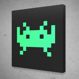 Space Invaders - Green