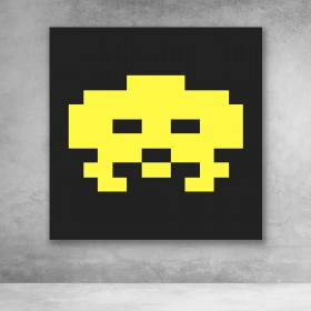 Space Invaders - Yellow