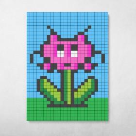 Space Invader Flower