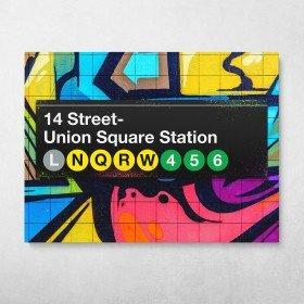Subway Union Square Graffiti