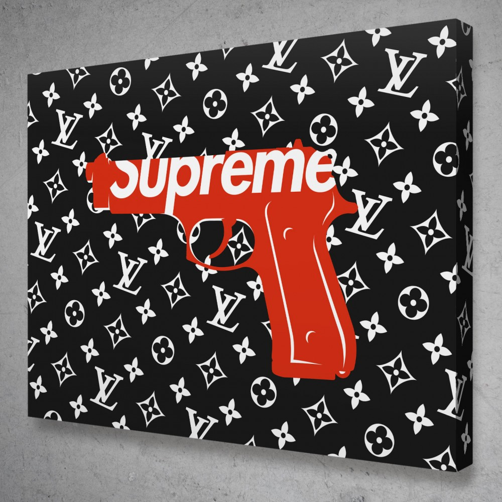 Supreme Louis Vuitton Gun