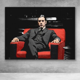 Michael Corleone In Chair