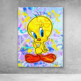 Tweety Graffiti