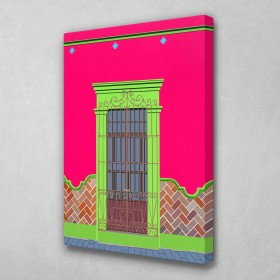 Caribbean Doors (Pink)