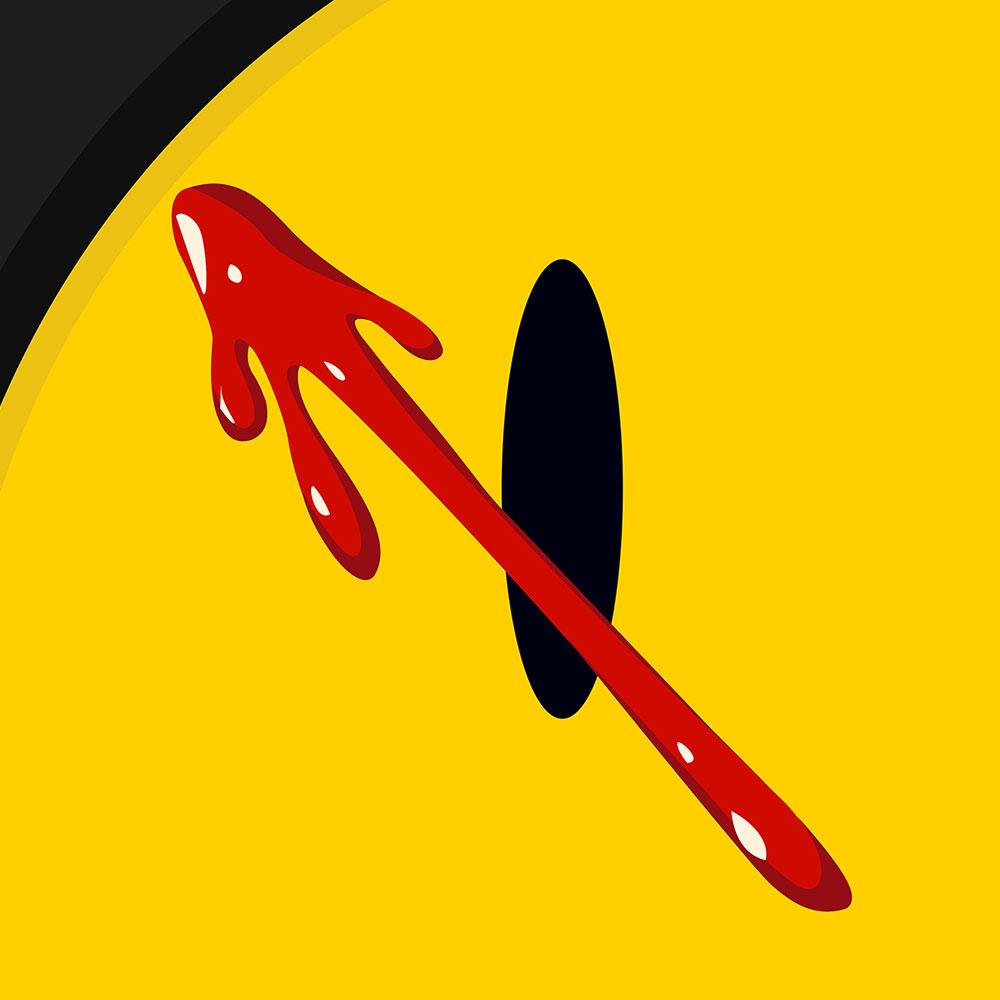 The Watchmen Comedian's Badge
