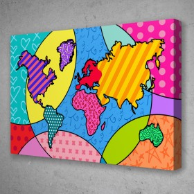 Pop World Map