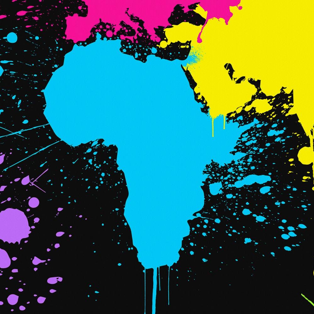 Graffiti World Map