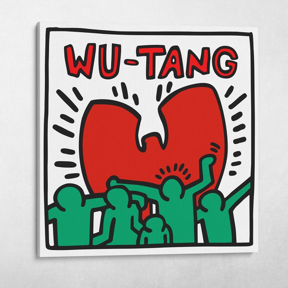 Wu-Tang New York Keith Haring Style