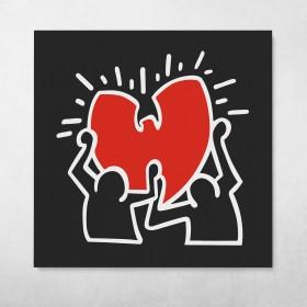 Wu-Tang Love Keith Haring Style